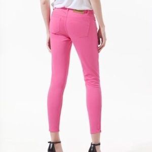 Zara Basic Vintage Colllection Pink skinny jeans